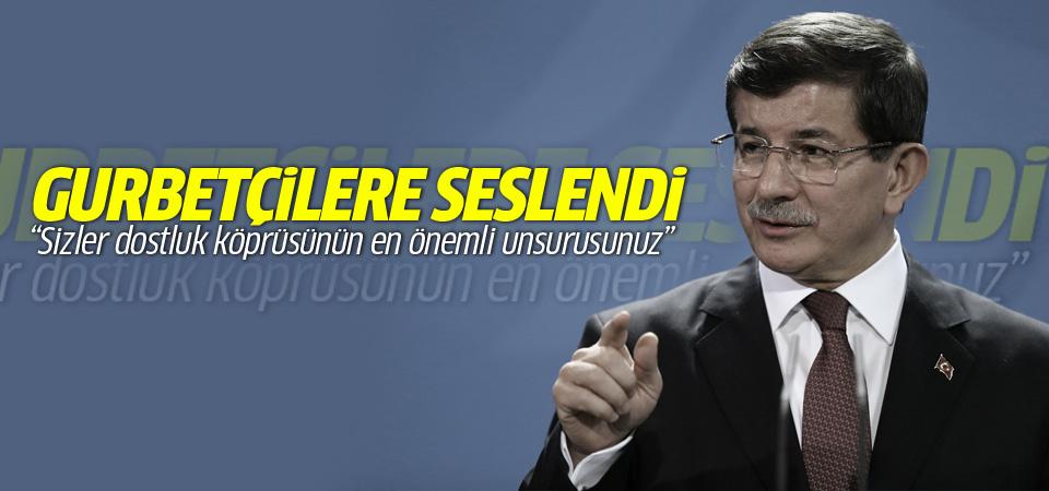 Başbakan Davutoğlu Almanya'da konuştu