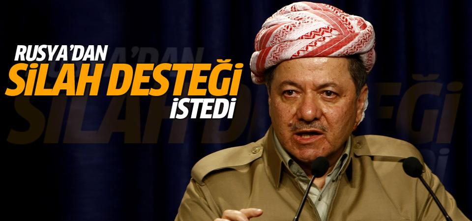 Barzani Rusya'dan silah talep etti