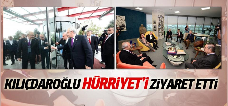 Kılıçdaroğlu, Hürriyet'i ziyaret etti
