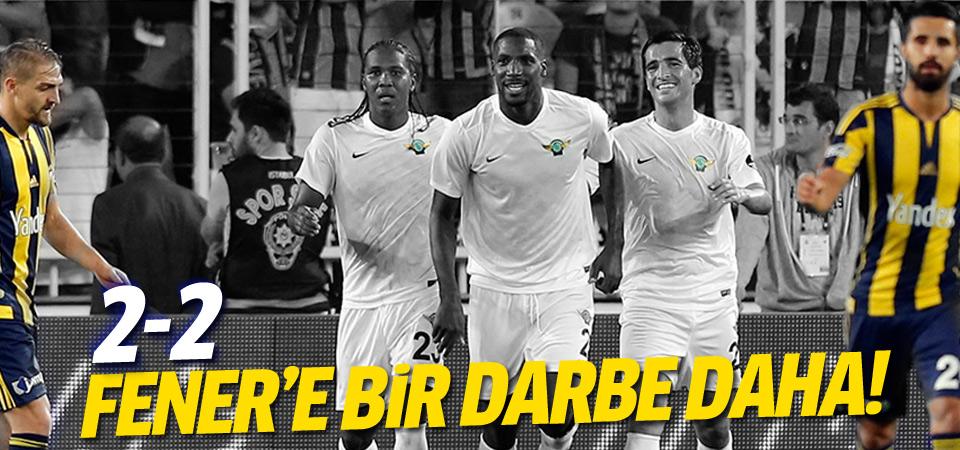 Fenerbahçe evinde berabere kaldı