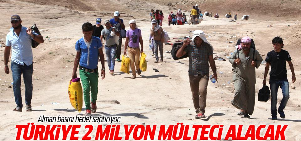 Alman basını: Türkiye 2 milyon Suriyeli alacak