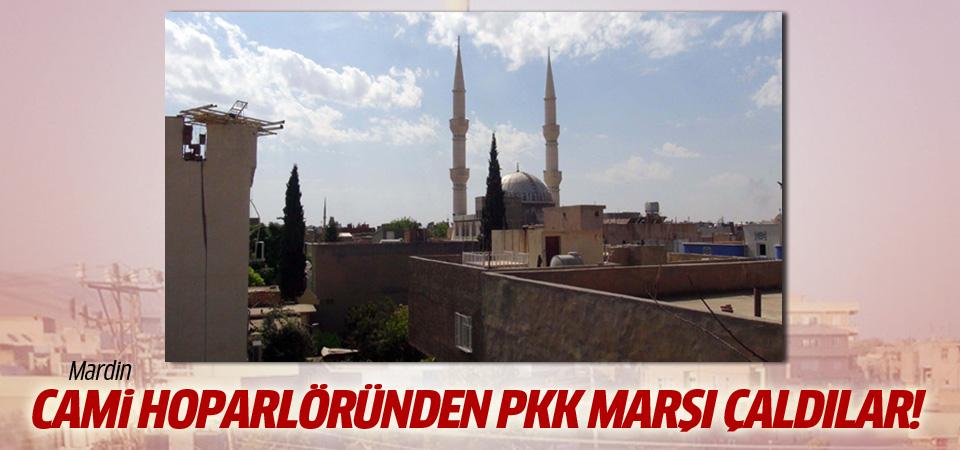 Mardin'de cami hoparlörlerinden PKK marşı çaldılar