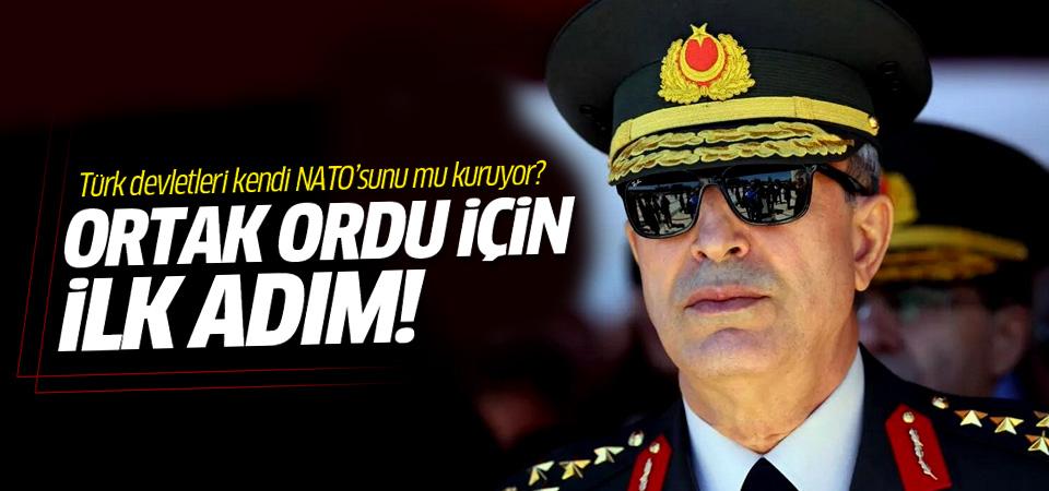 'Türkçe konuşan ülkelerin ortak ordusu olacak mı ?'