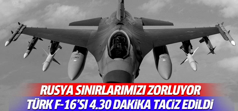 TSK'dan açıklama: F-16'lar taciz edildi!