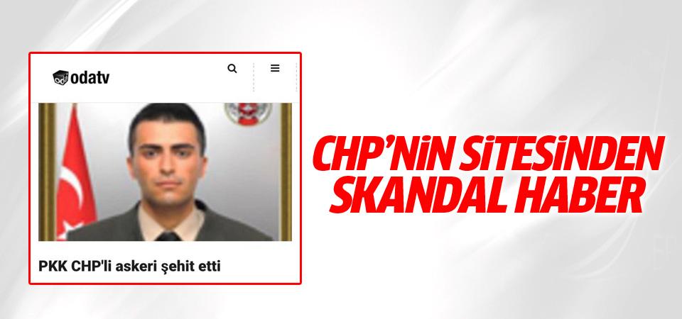 Oda TV'den skandal şehit haberi!
