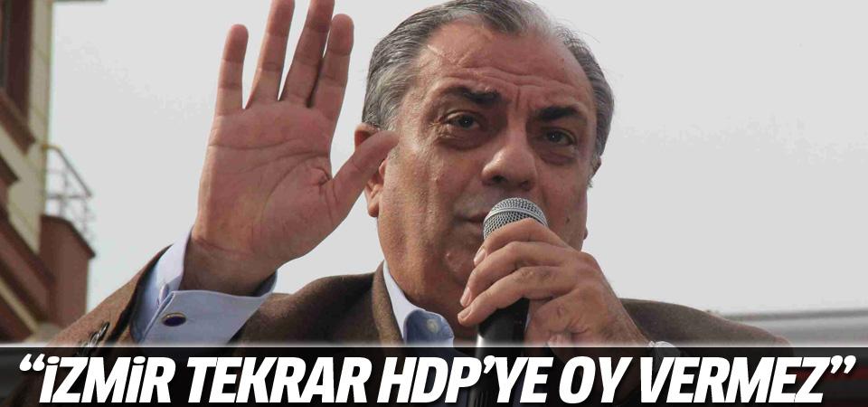 Türkeş: İzmir tekrar HDP'ye oy vermez