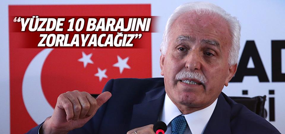 Mustafa Kamalak: Yüzde 10 barajını zorlayacağız
