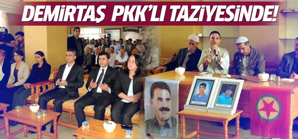 Demirtaş PKK'lılara taziye ziyaretine gitti!