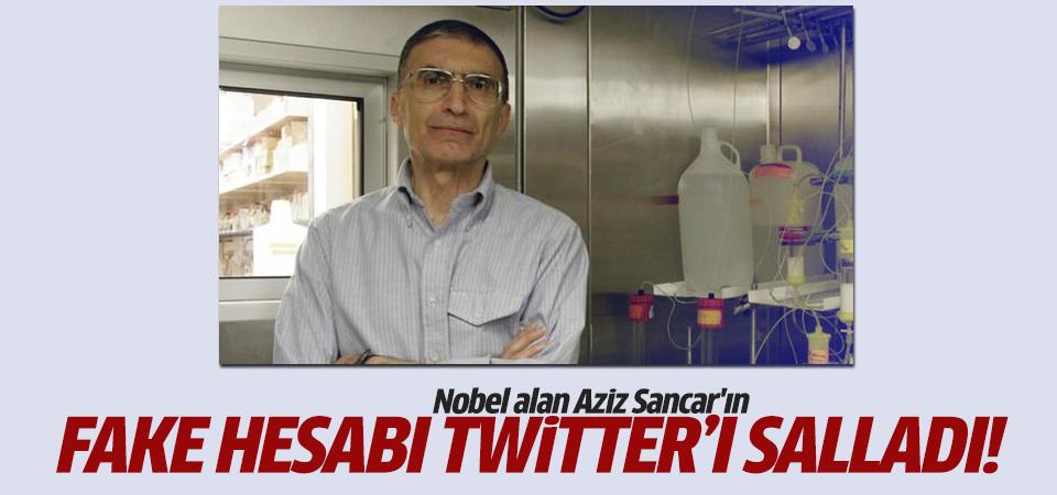 Nobel ödülü alan Aziz Sancar'ın fake hesabı Twitter'ı salladı