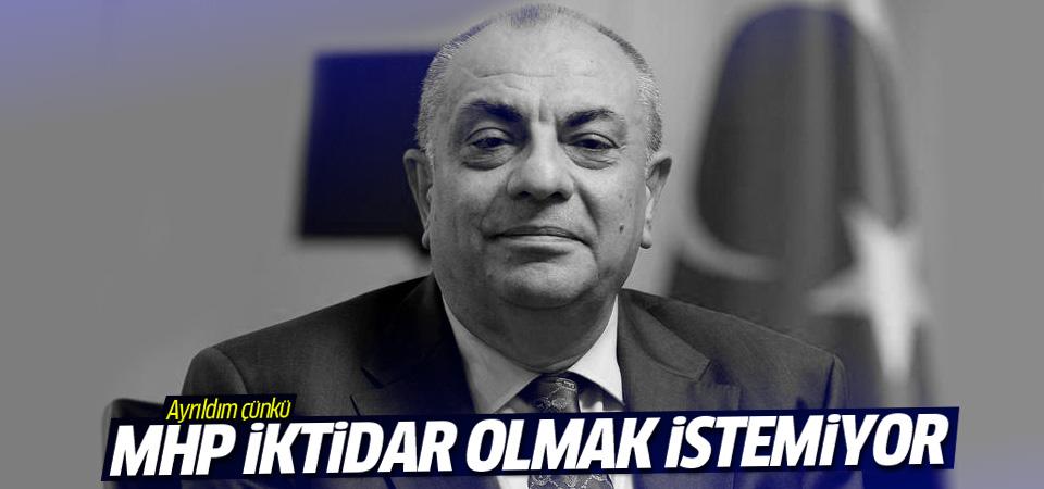 Türkeş: MHP iktidar olmak istemiyor