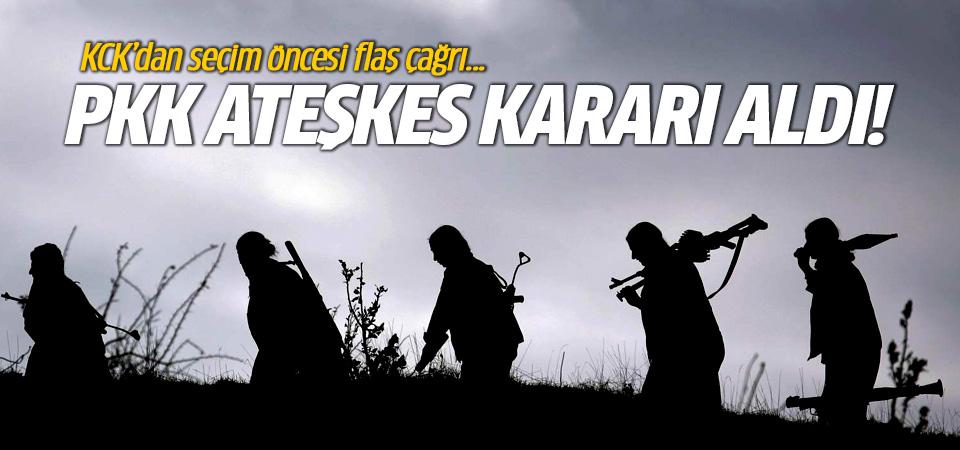 PKK ateşkes kararı aldı!