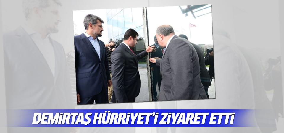 Demirtaş Hürriyet'i ziyaret etti