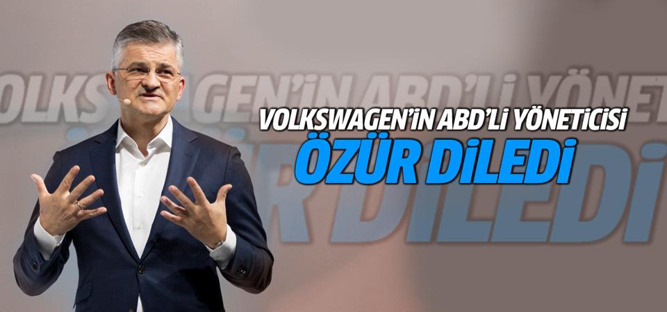 Volkswagen'in ABD'li yöneticisi özür diledi