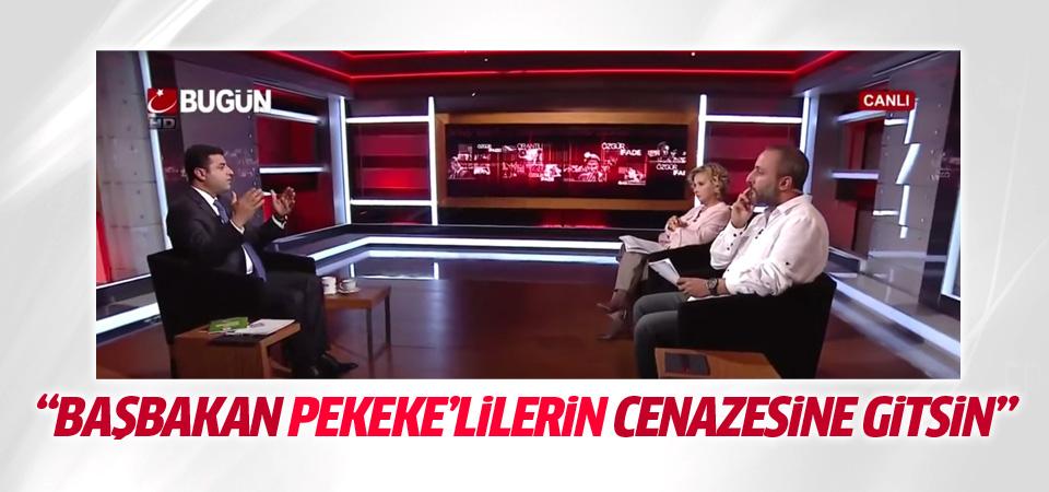 Demirtaş: Başbakan neden PKK taziyesine gitmiyor?