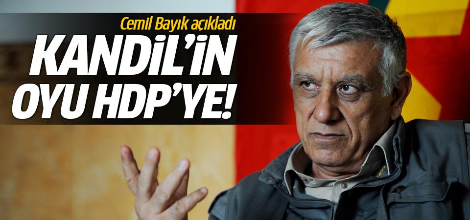 PKK'lı Cemil Bayık HDP'ye oy istedi