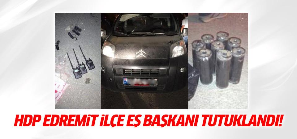 HDP Edremit İlçe Eş Başkanı tutuklandı