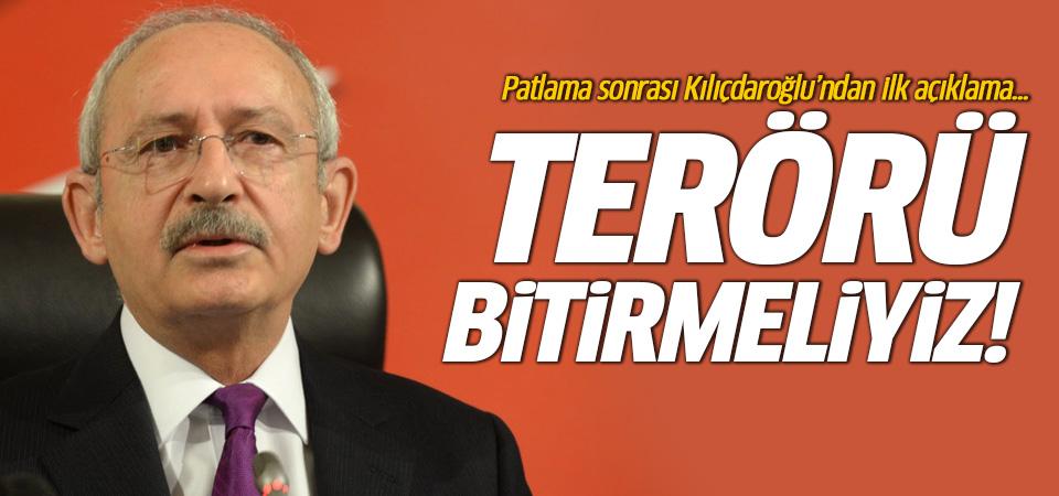 Kılıçdaroğlu'ndan patlama açıklaması