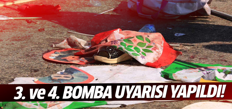 Ankara'da 3'üncü ve 4'üncü bomba uyarısı