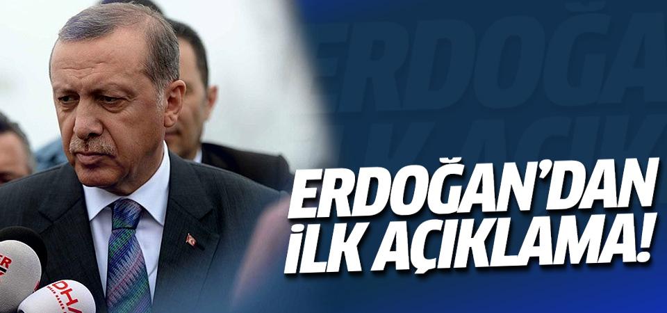 Erdoğan'dan Ankara'daki patlama ile ilgili ilk açıklama!