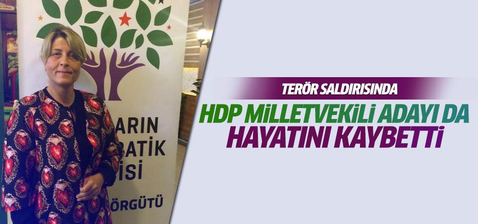 Patlamada HDP milletvekili adayı da hayatını kaybetti