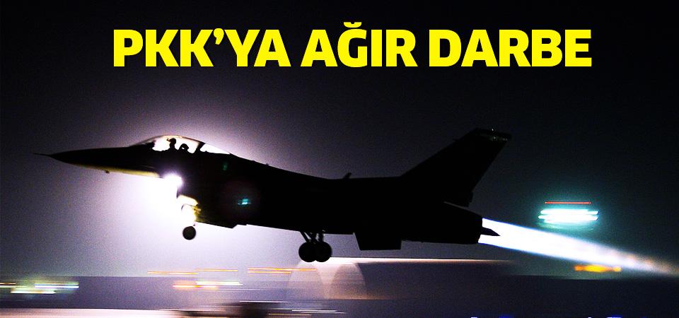 Genelkurmay: Terör örgütü PKK'ya ait silah mevzileri imha edildi