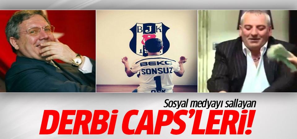Derbi caps'leri sosyal medyayı salladı! 24 Eylül 2016