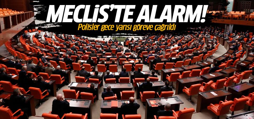 Meclis'te alarm! Polisler 'acil' olarak çağrıldı