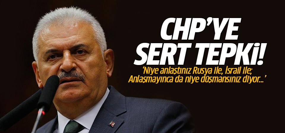 Binali Yıldırım: CHP'yi memnun etmek mümkün değil