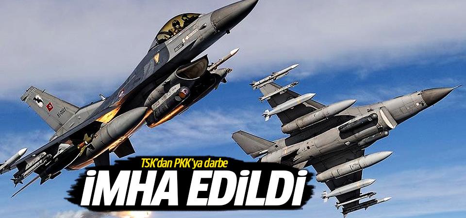 TSK'dan hava harekatı! PKK hedefleri imha edildi