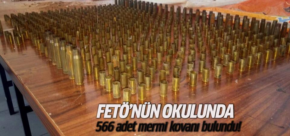 FETÖ'nün okulunda mermi kovanları bulundu