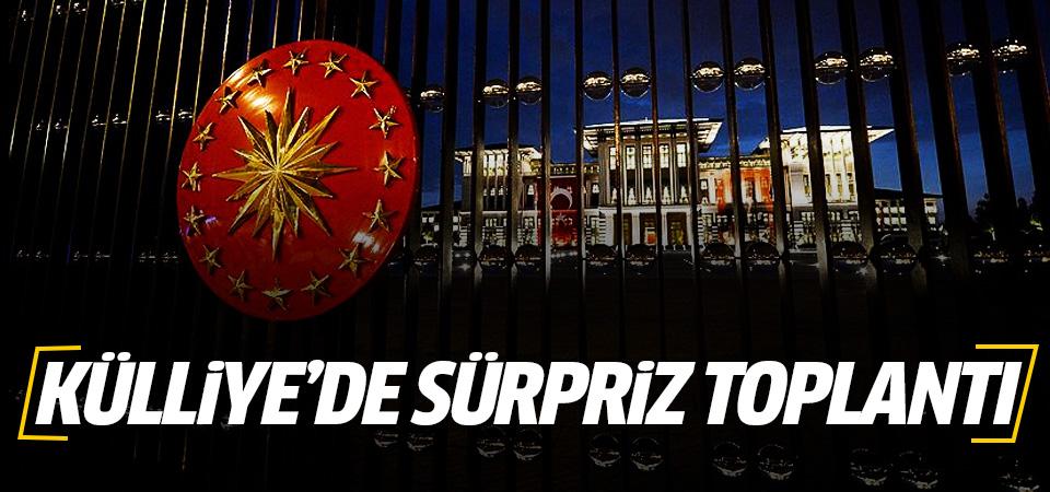 Ankara'da sürpriz görüşme sona erdi