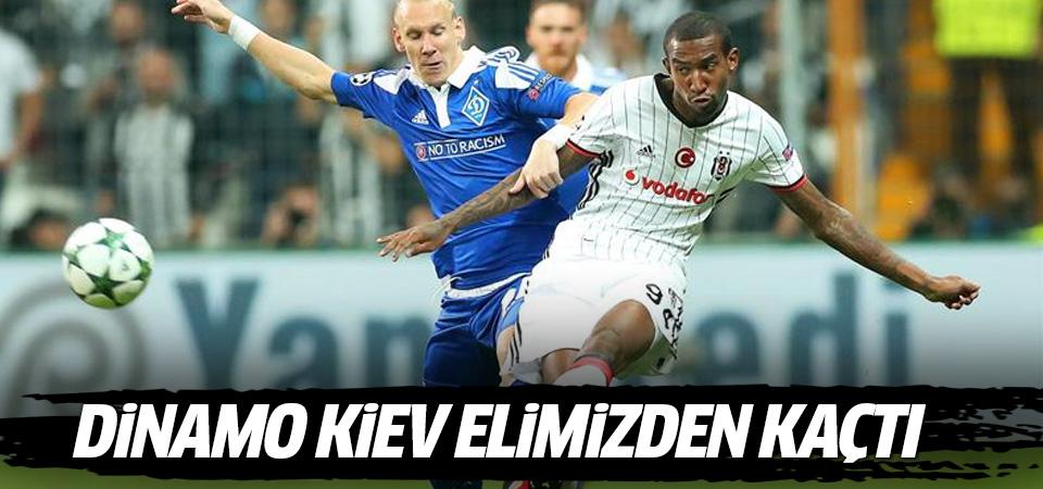 Kartal Dinamo Kiev'i elinden kaçırdı
