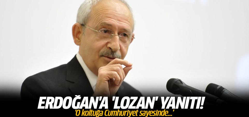 Kılıçdaroğlu'ndan Erdoğan'a çok sert Lozan çıkışı!