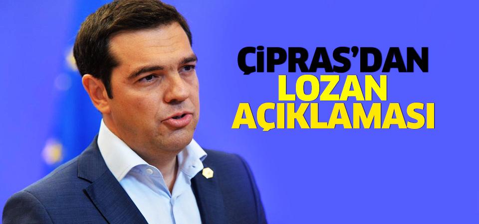 Yunanistan Başbakan Çipras'tan Lozan açıklaması