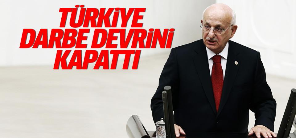Kahraman: Türkiye'de artık darbe devrini kapattı