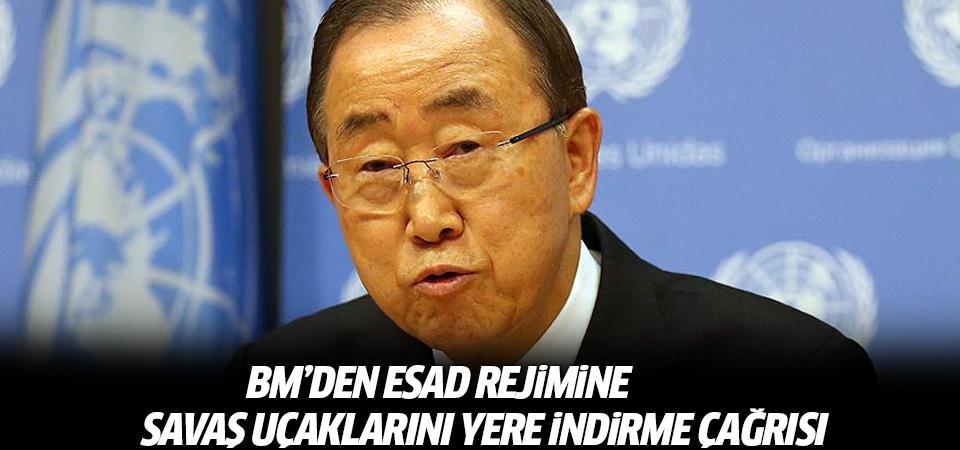 BM: Esed rejimi Halep'te uçakları yere indirmeli