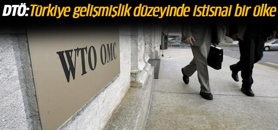 DTÖ: Türkiye gelişmişlik düzeyinde istisnai bir ülke