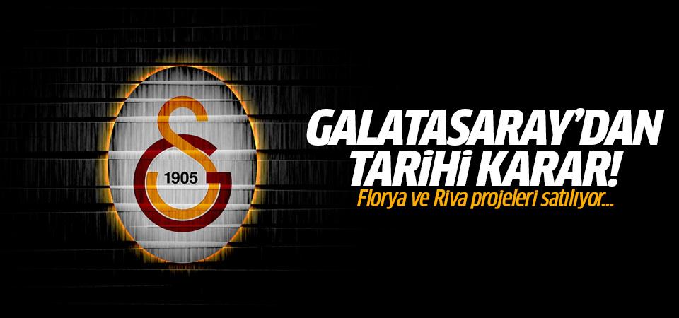 Galatasaray Florya ve Riva projelerini satıyor!