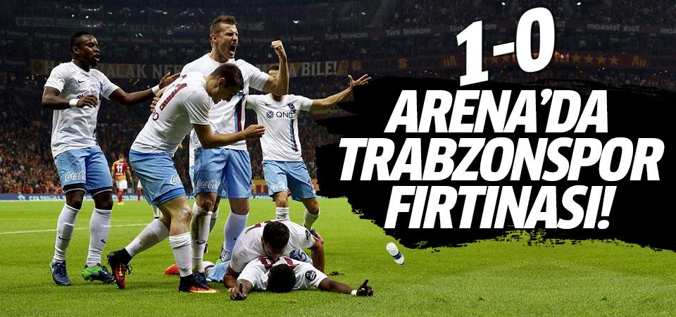Arena'da Trabzonspor fırtınası! 1-0