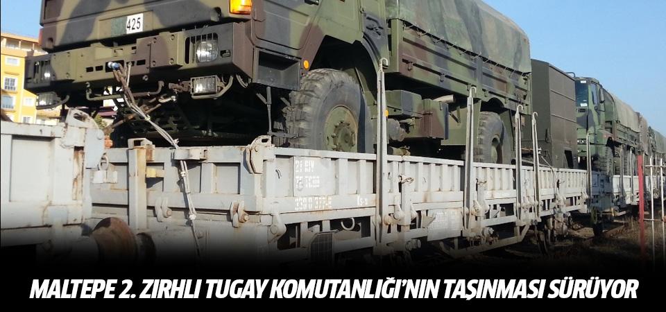 Maltepe 2. Zırhlı Tugay Komutanlığı'nın taşınması sürüyor