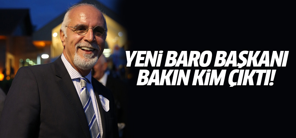 Yeni Baro Başkanı Mehmet Durakoğlu bakın kim çıktı