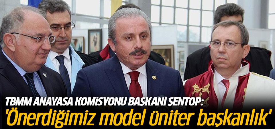 'Önerdiğimiz model üniter başkanlık'