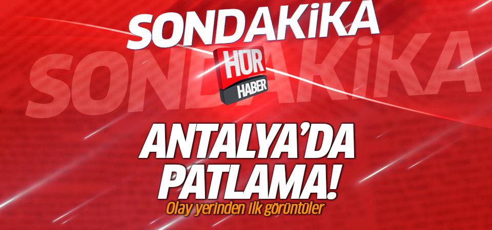 Antalya'da ATSO binası otoparkında patlama!