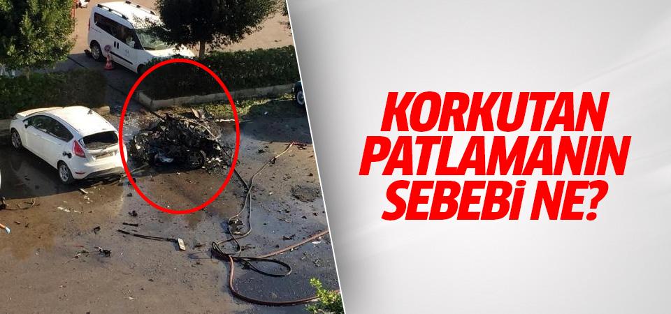 Antalya'daki korkutan patlamanın sebebi ne?