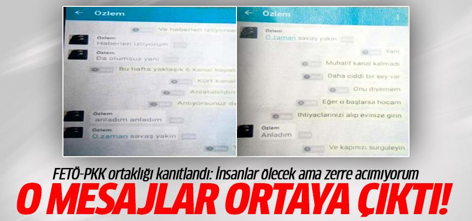 FETÖ-PKK ortaklığı kanıtlandı: İnsanlar ölecek ama zerre acımıyorum