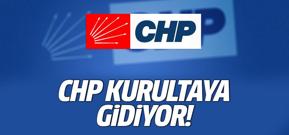 CHP kurultaya gidiyor