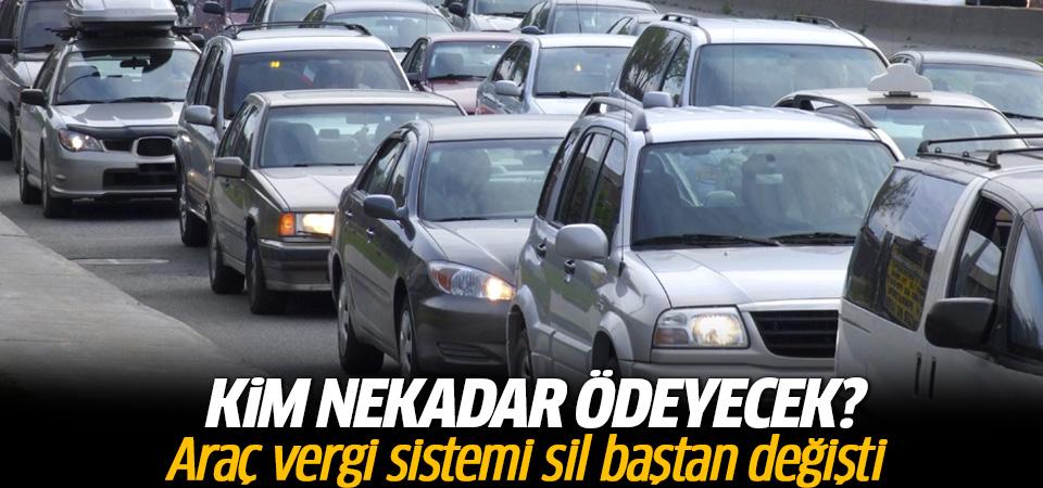 Araç vergi sistemi sil baştan değişti! Kim ne kadar ödeyecek?