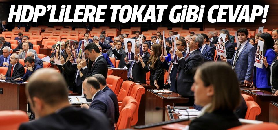 Kahraman'dan HDP'lilere tokat gibi cevap!