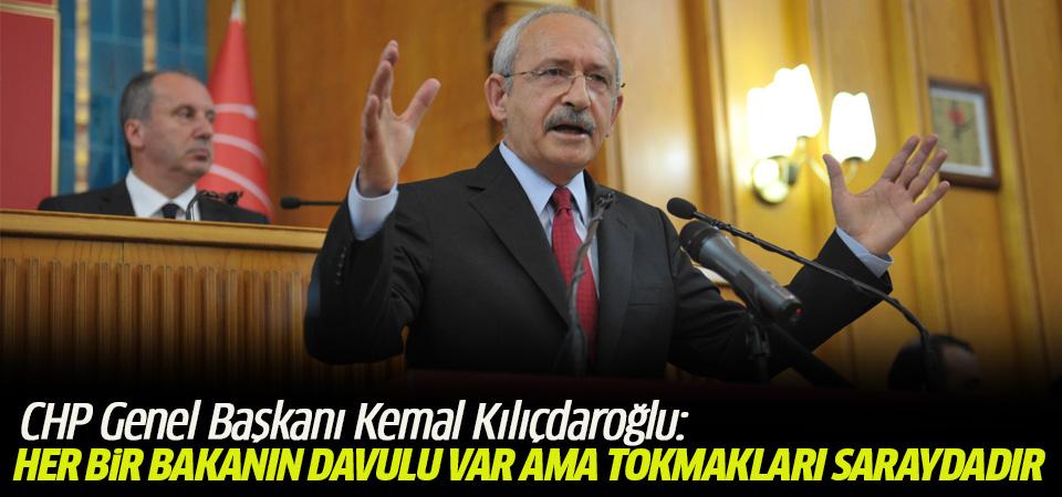 Kılıçdaroğlu: Her bir bakanın davulu var ama tokmakları saraydadır