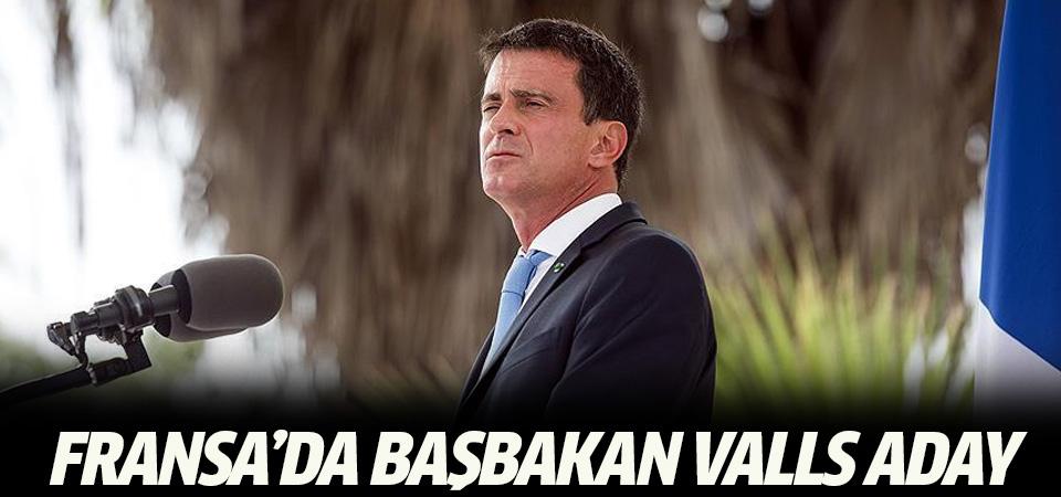 Fransa'da Başbakan Valls cumhurbaşkanlığı yarışı için aday